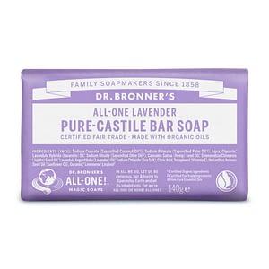 Dr. Bronner's Pure Castile Bar Soap (Lavender) 140g