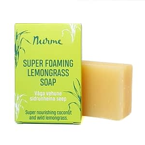 Nurme super foaming lemongrass soap 100g