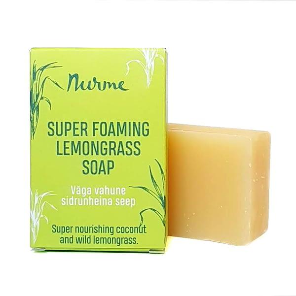 Nurme super foaming lemongrass soap 100g