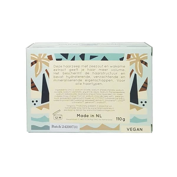HelemaalShea Wakame & Sea Salt shampoo bar