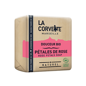 La Corvette Rose Petals Organic Soap 100g
