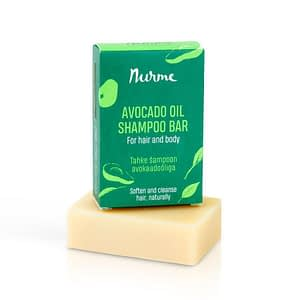 Nurme Avocado Oil Shampoo Bar 100g