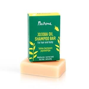 Nurme Jojoba Oil Shampoo Bar for Light Hair 100g
