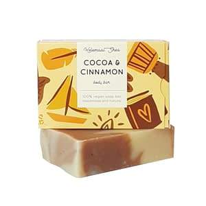 HelemaalShea Cocoa & Cinnamon body bar 110g