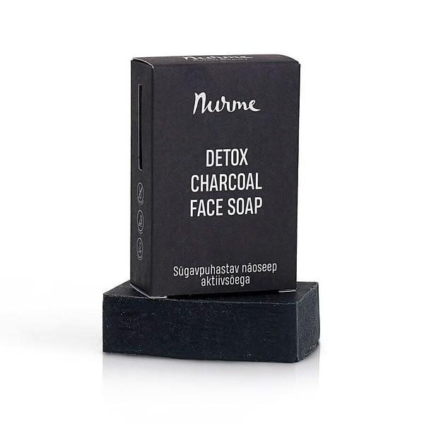 Nurme detox charcoal face soap 100g