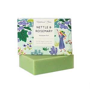 HelemaalShea Nettle & Rosemary shampoo bar 110g
