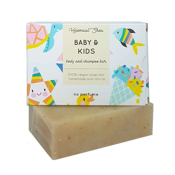 HelemaalShea Baby & Kids body and shampoo bar