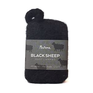 Nurme Felted Pine Tar Soap Black Sheep 80g