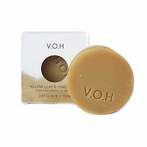 V.O.H Yellow Clay & Lemongrass Soap 90g