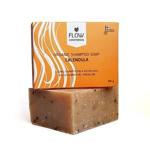Flow Calendula Organic Shampoo Soap 100g