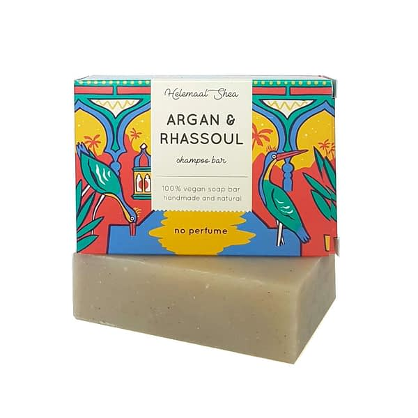 HelemaalShea Argan & Rhassoul Shampoo Bar