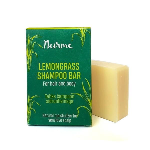 Nurme Lemongrass Shampoo Bar 100g