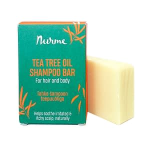 Nurme Tea Tree Oil Shampoo Bar 100g