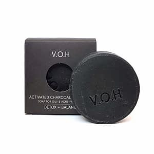 V.O.H Activated Charcoal & Tea Tree Soap 90g