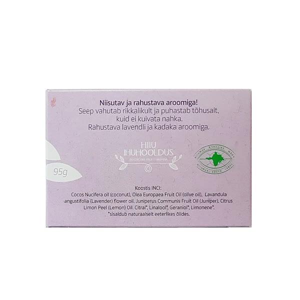 Hiiumaa Juniper & Lavender Soap 95g