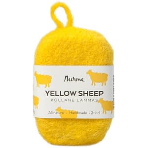 Nurme Felted Soap Yellow Sheep 80g