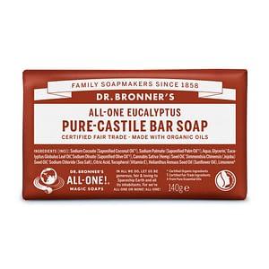 Dr. Bronner's Pure Castile Bar Soap (Eucalyptus) 140g