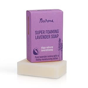 Nurme Super Foaming Lavender Soap 100g