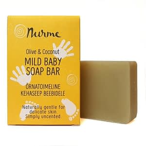 Nurme Unscented Mild Baby Soap Bar 100g