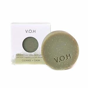 V.O.H Green Clay & Bergamot Soap 90g