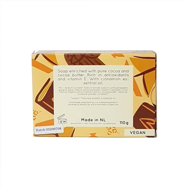 HelemaalShea Cocoa & Cinnamon body bar product image