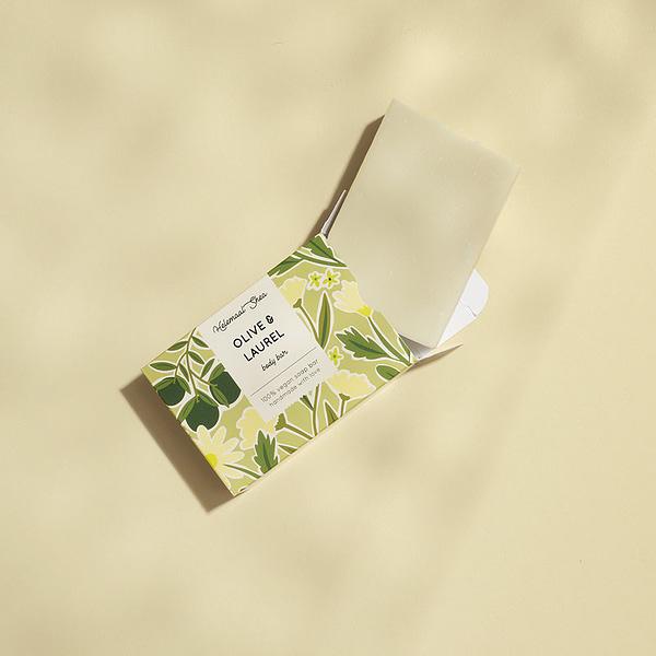HelemaalShea olive & laurel soap bar product image