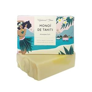 HelemaalShea Monoi de Tahiti shampoo bar 110g