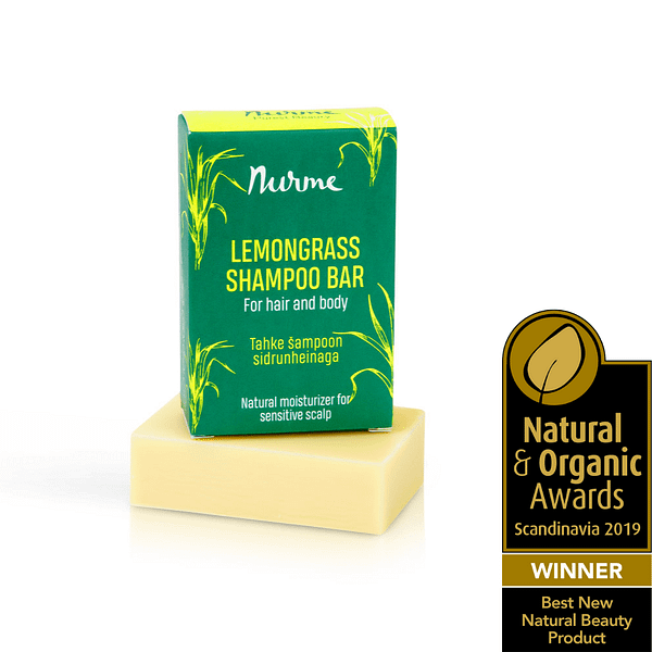 Nurme lemongrass shampoo bar product image