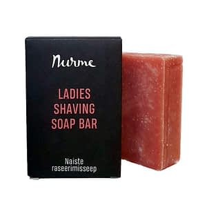 Nurme Ladies Shaving Soap Bar 100g