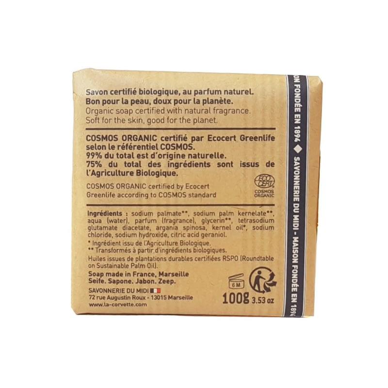 La Corvette Organic Soap with Argan Oil
