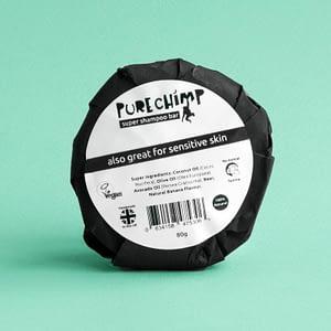 PureChimp 100% Natural Super Shampoo Bar 80g